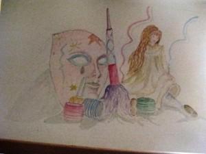 Disegno originale di Rosalba Carbonetti