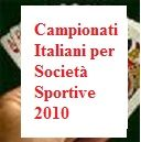 2010's Italian Club's Teams Championships: a short history of first day