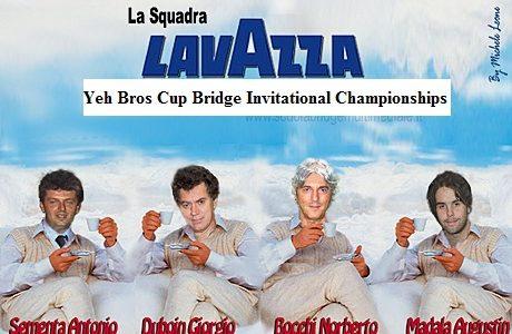 Yeh Bros Cup 2011: strepitosa vittoria del team Lavazza