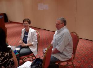 Jill Meyers and Eric Kokish, Team Joel (source USBF official bulletin)