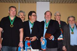 2011 Poznan Open Teams: Gold to Mahaffey (USA)