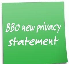Privacy in Bridge Base Online: new statement