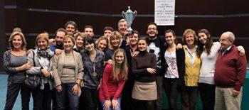 La Scuola del Bridge Eur di Roma vince il trofeo Riolo