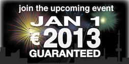Bridge Big: Start 2013 with 2013 Euro Guaranteed!