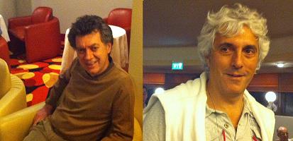 Giorgio Duboin & Norberto Bocchi (Lavazza Team)