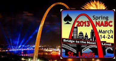 2013 Saint Louis Spring NABC: The Vanderbilt Trophy