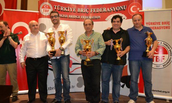 Lauria's team won the 2013 Turkish Open Teams Championship