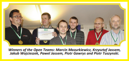 Ostend 2013: Mazurkiewicz wins Gold in Open Teams