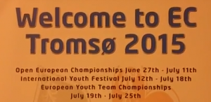 Tromsø to host European Open Championships 2015