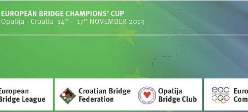 2013 European Bridge Champions' Cup: The Italians win their Groups
