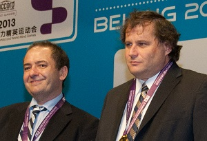 Fulvio Fantoni and Claudio Nunes