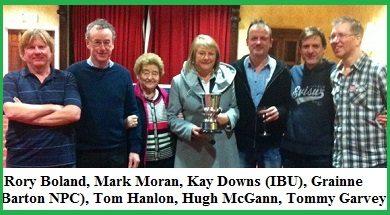 2014 IBU Trials: New Irish Open Team