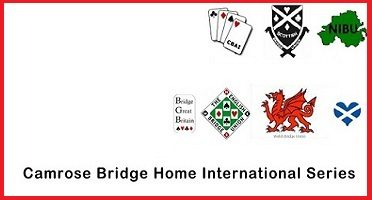 2019's Camrose Trophy 1st week-end: English Bridge Union is leading