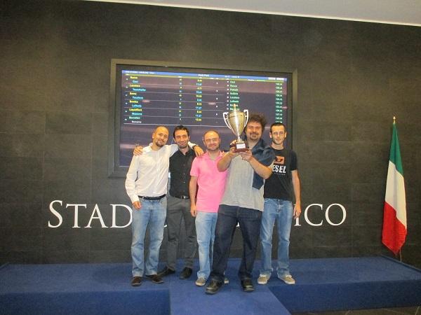2014 Angelini Trophy - Winners SpassoFood