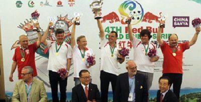 2014 Sanya World Teams Events: Winners