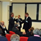 Pierre Zimmermann and EBL President Ives Aubry