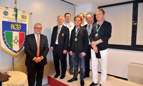 Caso Piekarek-Smirnov: Bamberger Reiter restituisce le medaglie