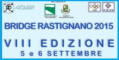 Torneo Bridge Rastignano 2015