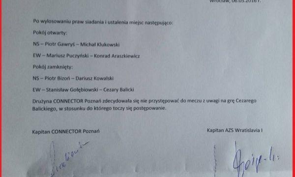 Polish Premier League: Poznan refused to play