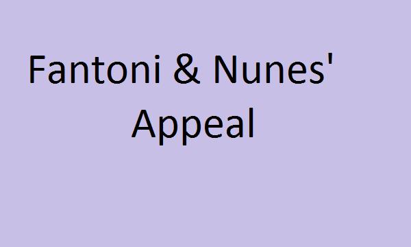 Fantoni & Nunes' Appeal: Highlights