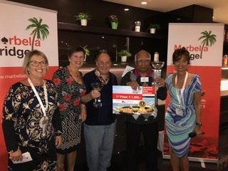 2017 Marbella International Bridge Tournament: Winners