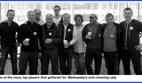 Raduno del Movimento Anti-Cheating a Filadelfia