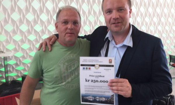 Terje Lie and Nils Kvangraven won the 2018 Marit Sveaas IBT