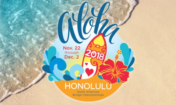 2018 Fall NABC in Honolulu