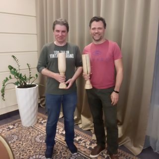 Georgi Matushko and Mikhail Krasnosselski Riga Invites 2019