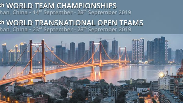 44th World Team Championships: Wuhan 2019