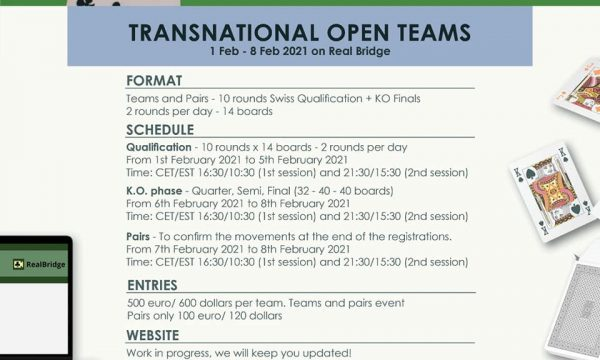 Peace&Bridge Transnational Open Teams: Rosters