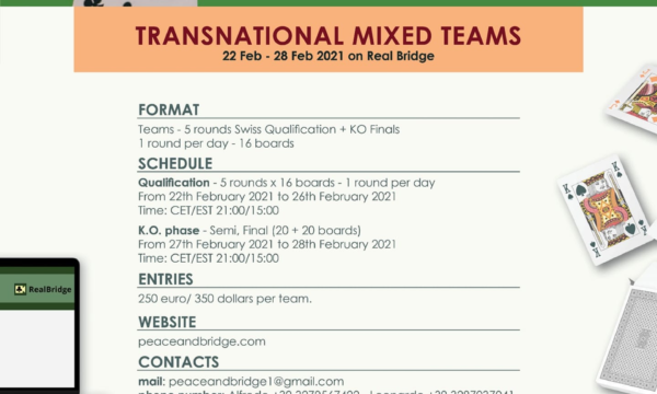 Peace&Bridge: Transnational Mixed Teams