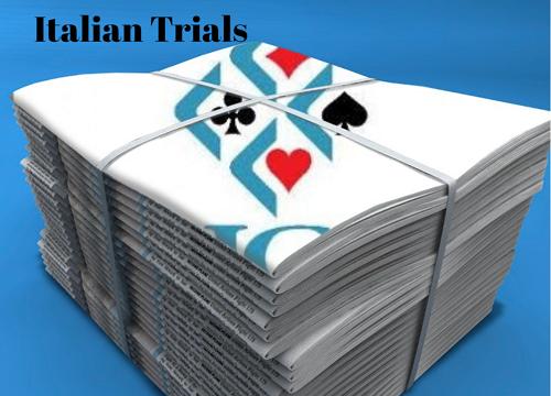 Italian Trials: De Micheli Team Withdraws